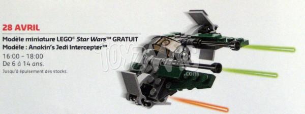 30244 Anakin's Jedi Intercepter.