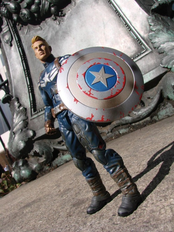 marvel select cap dst battledamaged unmasked 2
