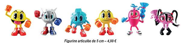Pac-Man et les Aventures de Fantômes figurines 5cm