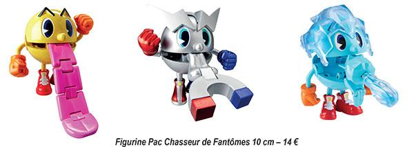 Pac-Man et les Aventures de Fantômes figurines