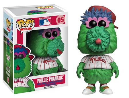 phillie phanatic funko pop