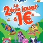 Bon plan le 2ème jouet à 1€ chez Hasbro