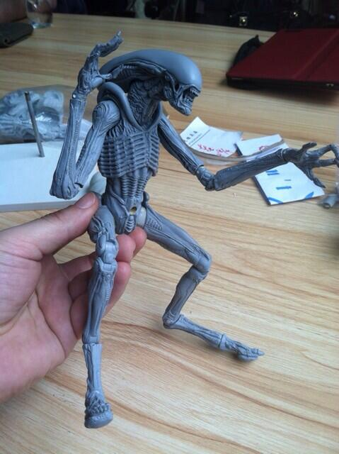 alien dog neca proto