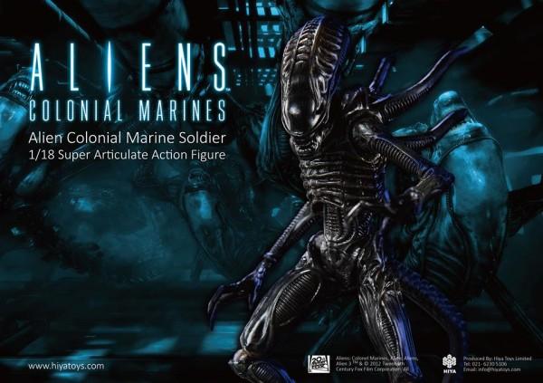 aliens colonial marines warrior