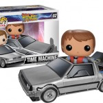 Funko : Marty et la Delorean à la sauce Pop!