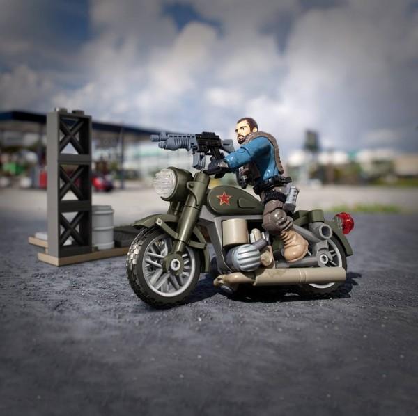 call of duty mega bloks motorbike