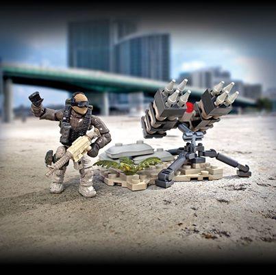 call of duty mega bloks sam turret