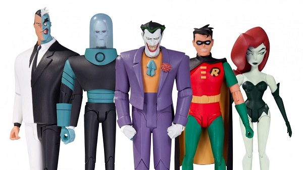 dc collectibles all animated batman