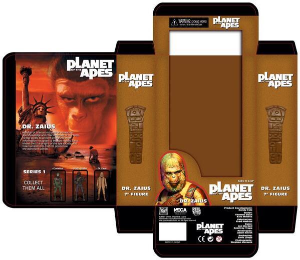 dr zaius packaging