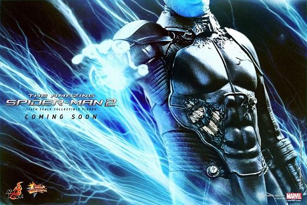 electro spider-man hot toys
