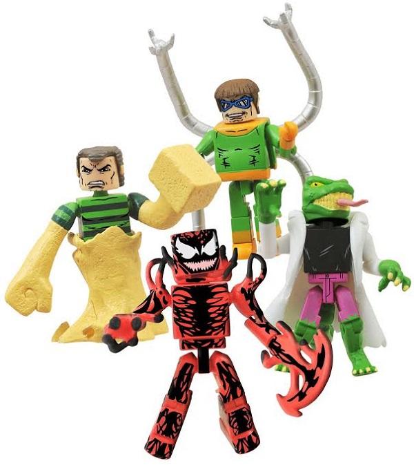 ennemis spider man minimates