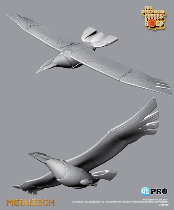 metaltech grand condor cites d'Or