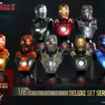 Hot Toys : Série 2 des bustes Iron Man