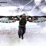 hot toys winter soldier cap falcon 4