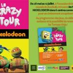 Bob l'Eponge et les Tortues Ninja en tournée