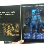 Predator NECA : le packaging de la version 8bit
