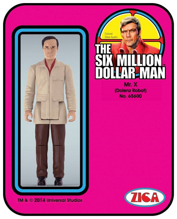 six million dollar man mr x