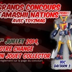 Concours Tamashii Nations France –  Soul of Chogokin Daitarn 3