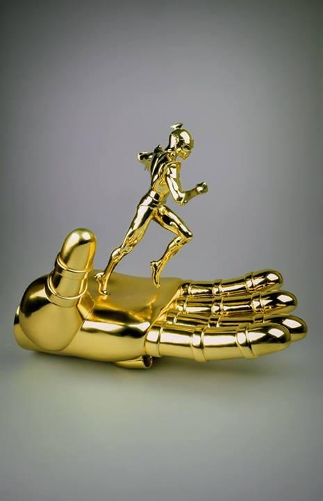 DUKE FLEED STATUE ~ GOLD / OR ~ Actarus Goldorak