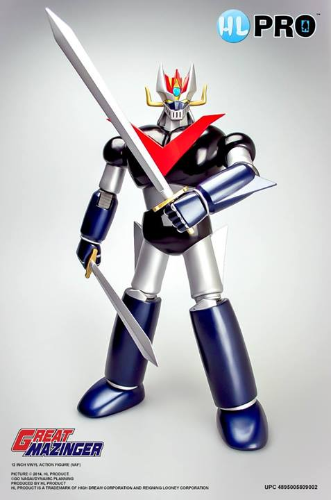 "Great Mazinger Full Action Figure Collection 12"" de High Dream"