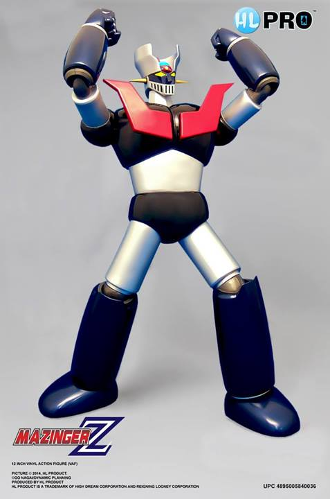 "Mazinger Z Full Action Figure Collection 12"" de High Dream"