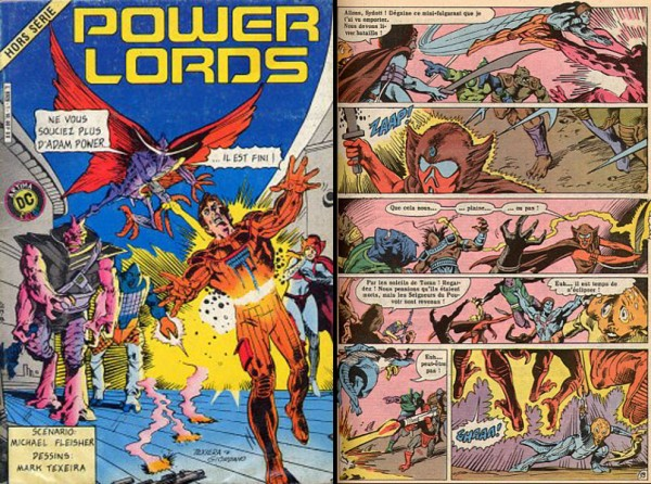 PowerLords-comic