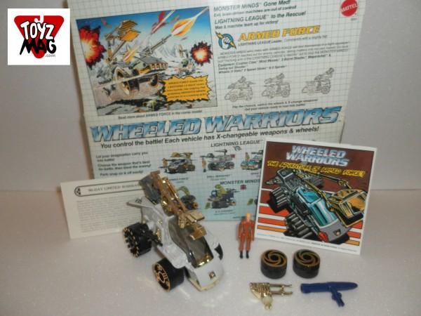 Instant Vintage  Armed Force Jayce (Mattel 1984)