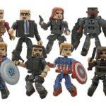 Captain America The Winter Soldier : les Minimates débarquent