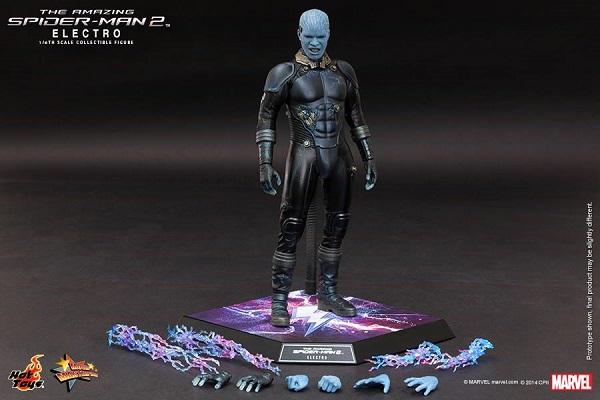 hot toys spider-man electro 16