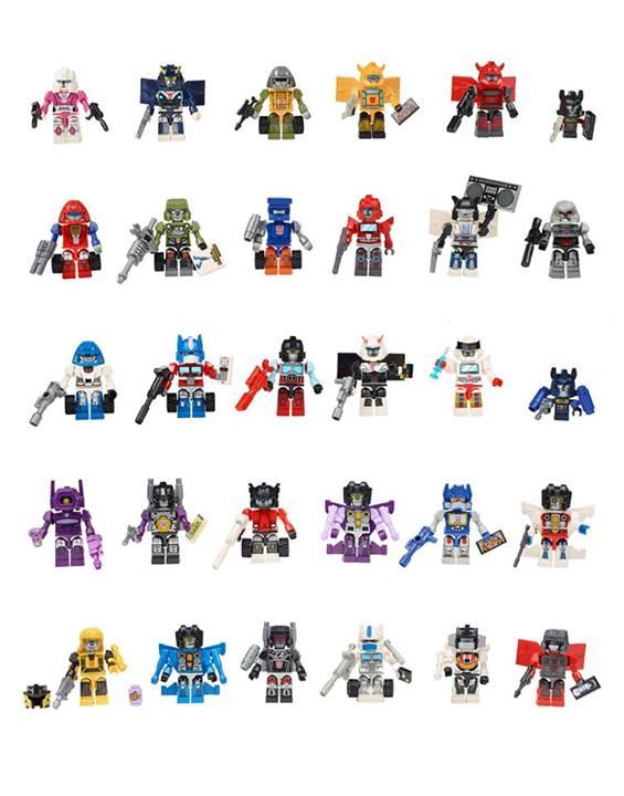 SDCC2014 Kre-O Transformers Hasbro
