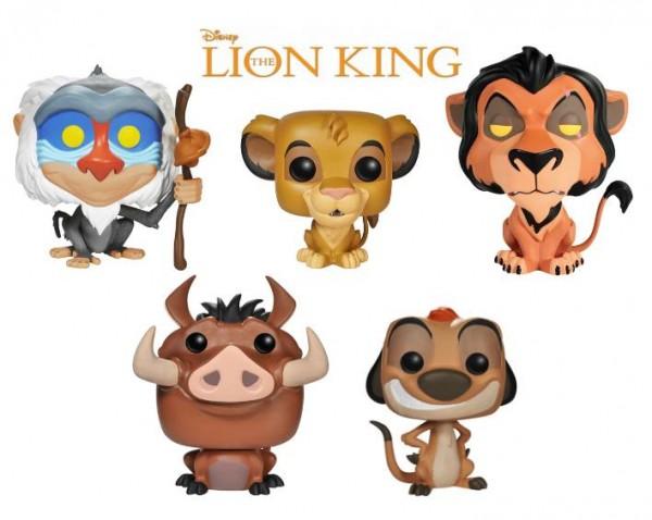 lion King funko pop Roi lion