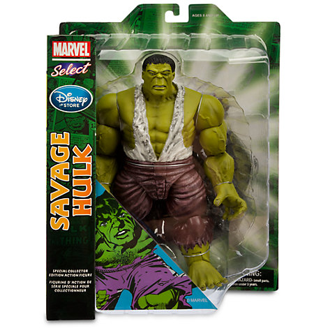 savage hulk marvel select 3