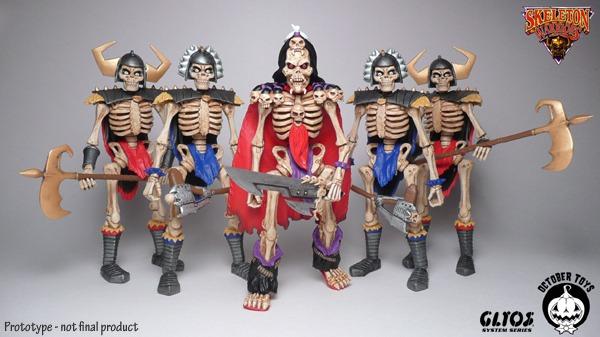 skeleton kickstarter glyos group shot