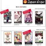 Japan Expo 15ans : Les auteurs Soleil en dédicaces