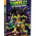Le DVD 2 des Tortues Ninja sort demain