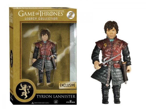 GOT legacy funko tyrion lannister exclu