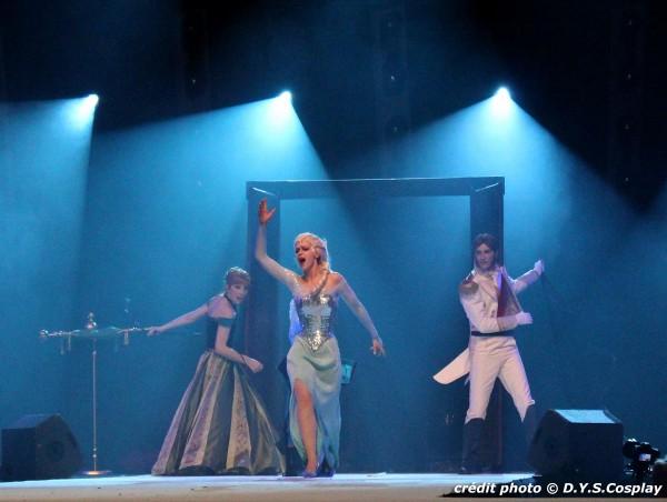 La reine des Neiges / Frozen Cosplay ECG 2014
