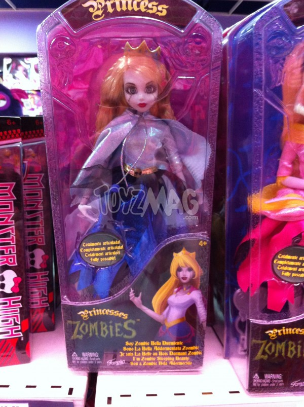 Princesses Zombies  Once Upon a Zombie - Famosa