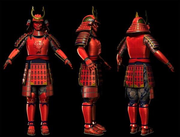 Samurai_WIP_Shaded_by_Silesky-1000x761
