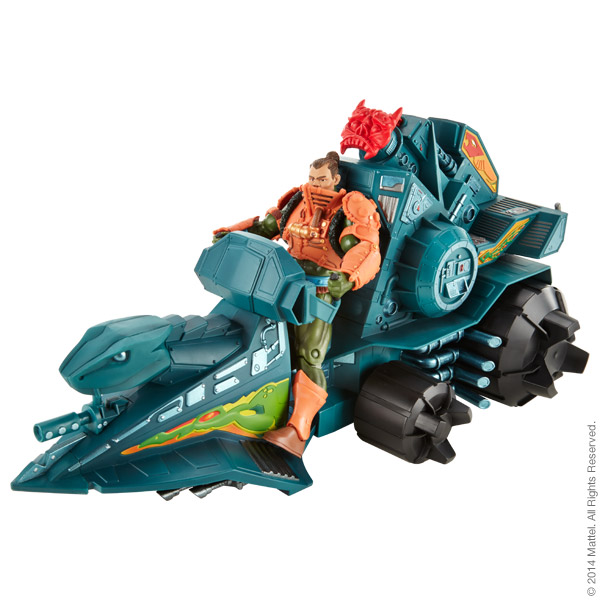 Masters of the Universe® Classics Battle Ram™ with Man-At-Arms®, $110
