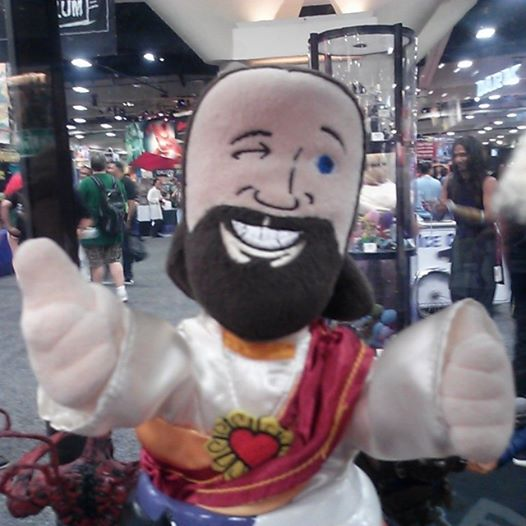 dst buddy christ sdcc