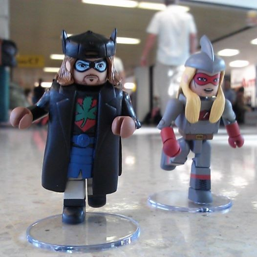 dst minimates bluntman chronic kevin smith sdcc