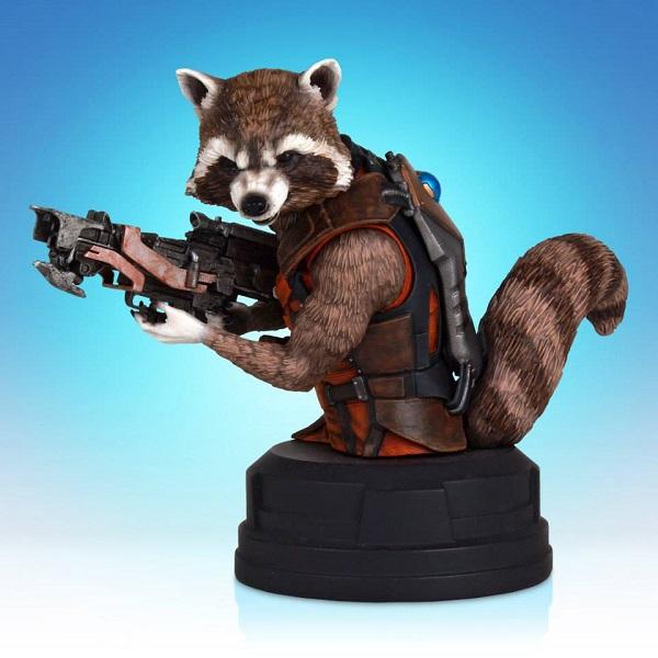 rocket raccoon gentle giant sdcc 1