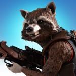 SDCC : buste Rocket Raccoon exclusif par Gentle Giant
