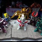 Quand Gundam fusionne avec Saint Seiya
