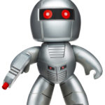 #SDCC : Rom the Space Knight par Hasbro