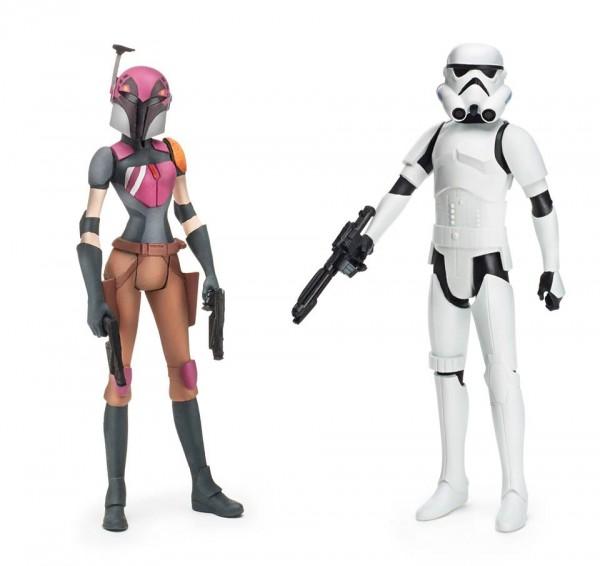 star wars rebles Sabine Wren + Stormtrooper