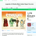 Legends of Cthulhu : succès de Warpo Toys sur Kickstarter !
