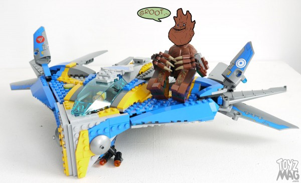 Guardians of the Galaxy - LEGO Set 76021 - L'attaque du vaisseau Milano