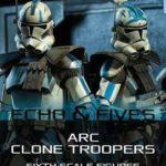 Star Wars TCW : des ARC Troopers par Sideshow